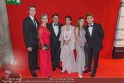 Filmball Vienna - Rathaus - Fr 01.04.2016 - Familie Christian SPATZEK mit Schwester Andrea, Ehefrau, Kindern100