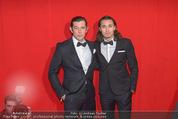 Filmball Vienna - Rathaus - Fr 01.04.2016 - Werner SCHREYER mit Sohn Marlon120