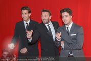 Filmball Vienna - Rathaus - Fr 01.04.2016 - Mark KELLER mit S�hnen Joshua und Aaron281
