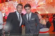 Filmball Vienna - Rathaus - Fr 01.04.2016 - Mark KELLER mit Sohn Aaron334