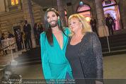 Amadeus 2016 - Volkstheater - So 03.04.2016 - Conchita WURST, Marianne MENDT125