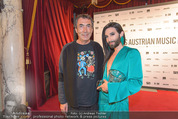 Amadeus 2016 - Volkstheater - So 03.04.2016 - Hubert VON GOISERN, Conchita WURST367