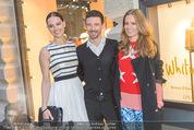Opening - MaxMara Store - Do 07.04.2016 - Julia CZECHNER, Oliver BERBEN, Katrin KRAUS1