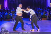 Dancer against Cancer - Hofburg - Sa 09.04.2016 - Herbert STEINB�CK, Amina WELT273