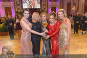 Dancer against Cancer - Hofburg - Sa 09.04.2016 - Bond-Girls BOCAN, PFL�GER, MASTAN, SCHWARZ, GASTINGER360