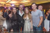 Dancing Stars - ORF Zentrum - Fr 15.04.2016 - Familie Christof STRAUB Partnerin Jasmina, ZOE mit Freund Kaspar34