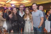Dancing Stars - ORF Zentrum - Fr 15.04.2016 - Familie Christof STRAUB Partnerin Jasmina, ZOE mit Freund Kaspar35