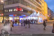 Re-Opening - Nordsee Filiale - Di 19.04.2016 - Filiale mit Partyzelt von Au�en23