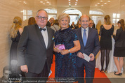 Fundraising Dinner - Albertina - Do 21.04.2016 - Christian und Rotraud KONRAD, Dominique MEYER1