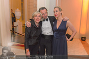 Fundraising Dinner - Albertina - Do 21.04.2016 - Nadja BERNHARD,  Xenia HAUSNER, Christian RAINER110