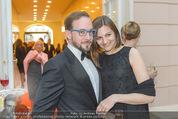 Fundraising Dinner - Albertina - Do 21.04.2016 - Florian TEICHTMEISTER mit Begleitung Katja20