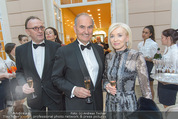 Fundraising Dinner - Albertina - Do 21.04.2016 - Johann und Erna MARIHART30