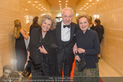 Fundraising Dinner - Albertina - Do 21.04.2016 - Inge UNZEITIG, Harald und Ingeborg SERAFIN36