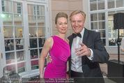 Fundraising Dinner - Albertina - Do 21.04.2016 - Klaus Albrecht und Nina SCHR�DER71