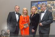 Fundraising Dinner - Albertina - Do 21.04.2016 - Wolfgang HESOUN mit Ehefrau Brigitte, C P�TTLER, U FELLNER95