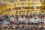 All for Autism Charity Concert - Wiener Musikverein - Di 26.04.2016 - Finale auf der B�hne mit Stars und Kindern191