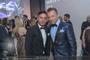 Duftstars - Österreichischer Parfumpreis - Aula der Wissenschaften - Di 03.05.2016 - Uwe KR�GER mit Kiko (Freund, Mann)43