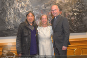 Yan Pei-Ming Ausstellung - Oberes Belvedere - Di 17.05.2016 - Yan PEI-MING, Agnes HUSSLEIN, Anton Toni FABER54