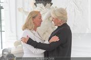 Yan Pei-Ming Ausstellung - Oberes Belvedere - Di 17.05.2016 - Agnes HUSSLEIN, Gheri SACKLER6