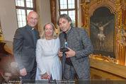 Yan Pei-Ming Ausstellung - Oberes Belvedere - Di 17.05.2016 - Agnes HUSSLEIN, Anton Toni FABER, Hubertus HOHENLOHE64