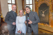 Yan Pei-Ming Ausstellung - Oberes Belvedere - Di 17.05.2016 - Agnes HUSSLEIN, Anton Toni FABER, Hubertus HOHENLOHE65