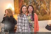 Empfang für Dominique Meyer - Privatwohnung Sarata - Mi 18.05.2016 - Aida GARIFULLINA, Zoryana KUSHPLER26