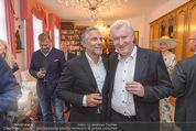 Empfang für Dominique Meyer - Privatwohnung Sarata - Mi 18.05.2016 - Christian P�TTLER, Josef KIRCHBERGER29