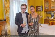 Empfang für Dominique Meyer - Privatwohnung Sarata - Mi 18.05.2016 - Rebecca HORNER, Andrey KAYDANOVSKY31