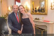 Empfang für Dominique Meyer - Privatwohnung Sarata - Mi 18.05.2016 - Dominique MEYER, Maria GRO�BAUER GROSSBAUER51
