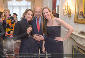 Empfang für Dominique Meyer - Privatwohnung Sarata - Mi 18.05.2016 - Alexandra Ali G�RTLER, Dominique MEYER, Maria GRO�BAUER56