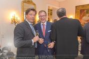 Empfang für Dominique Meyer - Privatwohnung Sarata - Mi 18.05.2016 - Oliver BRAUN, Matthias WINKLER, Wolfgang FISCHER65