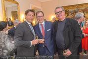 Empfang für Dominique Meyer - Privatwohnung Sarata - Mi 18.05.2016 - Oliver BRAUN, Matthias WINKLER, Wolfgang FISCHER66