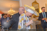 Empfang für Dominique Meyer - Privatwohnung Sarata - Mi 18.05.2016 - Georg SPRINGER, Andrea BUDAY70