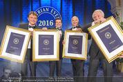 emba - Events Hall of Fame - Casino Baden - Do 19.05.2016 - Hannes JAGERHOFER, Harald SERAFIN, Harry KOPIETZ, Hupo NEUPER200