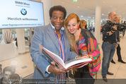 25 Jahre Manfred Baumann Fotografie - BMW Wien Heiligenstadt - Di 24.05.2016 - Roberto BLANCO mit Ehefrau Luzandra56