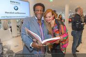 25 Jahre Manfred Baumann Fotografie - BMW Wien Heiligenstadt - Di 24.05.2016 - Roberto BLANCO mit Ehefrau Luzandra57