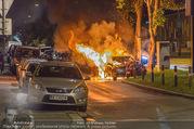 Mercedes brennt - Wiedner Gürtel - Mi 01.06.2016 - 1