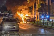 Mercedes brennt - Wiedner Gürtel - Mi 01.06.2016 - Mercedes brennt, Fahrzeugbrand PKW Autobrand Feuer Einsatz2