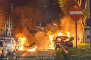 Mercedes brennt - Wiedner Gürtel - Mi 01.06.2016 - Mercedes brennt, Fahrzeugbrand PKW Autobrand Feuer Einsatz6