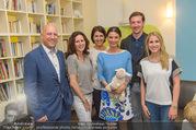 Sommerfest - Ronald McDonald Kinderhilfehaus - Do 02.06.2016 - Kinderhilfehaus-Team mit Sonja KLIMA, Robert SCHEDL, Max STEINER55