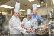 Promis kochen für den Vatertag - Hotel Bristol - Mi 08.06.2016 - Manuel GRATZL, Virginia ERNST, Florian DANNER8