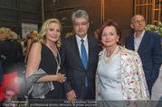 Fundraising Dinner - Volksoper - Do 09.06.2016 - Wolfgang HESOUN mit Ehefrau Brigitte, Frau MEYER15
