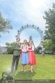 Kristina Sprenger Fotoshooting - Wiener Wiesn Riesenrad - Do 09.06.2016 - Claudia WIESNER, Christian FELDHOFER, Kristina SPRENGER22