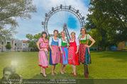 Kristina Sprenger Fotoshooting - Wiener Wiesn Riesenrad - Do 09.06.2016 - KRUMHUBER, KATO, SPRENGER, WIESNER, INDRA31