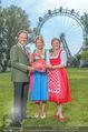 Kristina Sprenger Fotoshooting - Wiener Wiesn Riesenrad - Do 09.06.2016 - Christian FELDHOFER, Kristina SPRENGER, Claudia WIESNER42