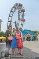 Kristina Sprenger Fotoshooting - Wiener Wiesn Riesenrad - Do 09.06.2016 - Christian FELDHOFER, Kristina SPRENGER, Claudia WIESNER77