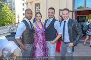 Miss Austria 2016 - Casino Baden - Do 23.06.2016 - Julia FURDEA, Giovanni ZARELLA mit Band43