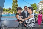 Miss Austria 2016 - Casino Baden - Do 23.06.2016 - Micaela SCH�FER mit Freund Felix STEINER, Julian FM ST�CKEL68