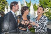 Miss Austria 2016 - Casino Baden - Do 23.06.2016 - Micaela SCH�FER mit Freund Felix STEINER, Julian FM ST�CKEL71