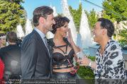 Miss Austria 2016 - Casino Baden - Do 23.06.2016 - Micaela SCH�FER mit Freund Felix STEINER, Julian FM ST�CKEL72